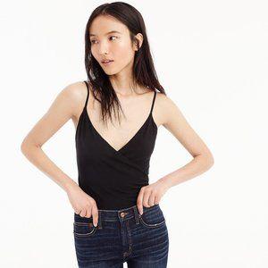Black J. Crew Wrap Bodysuit Cami (NWT)